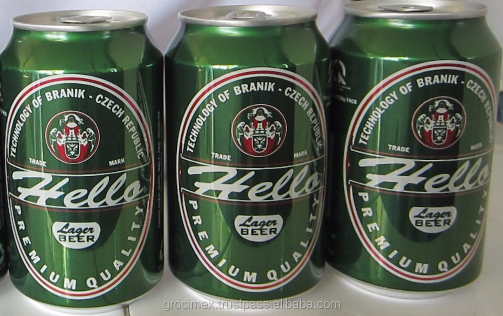 Premium quality lager beer (5% ABV)