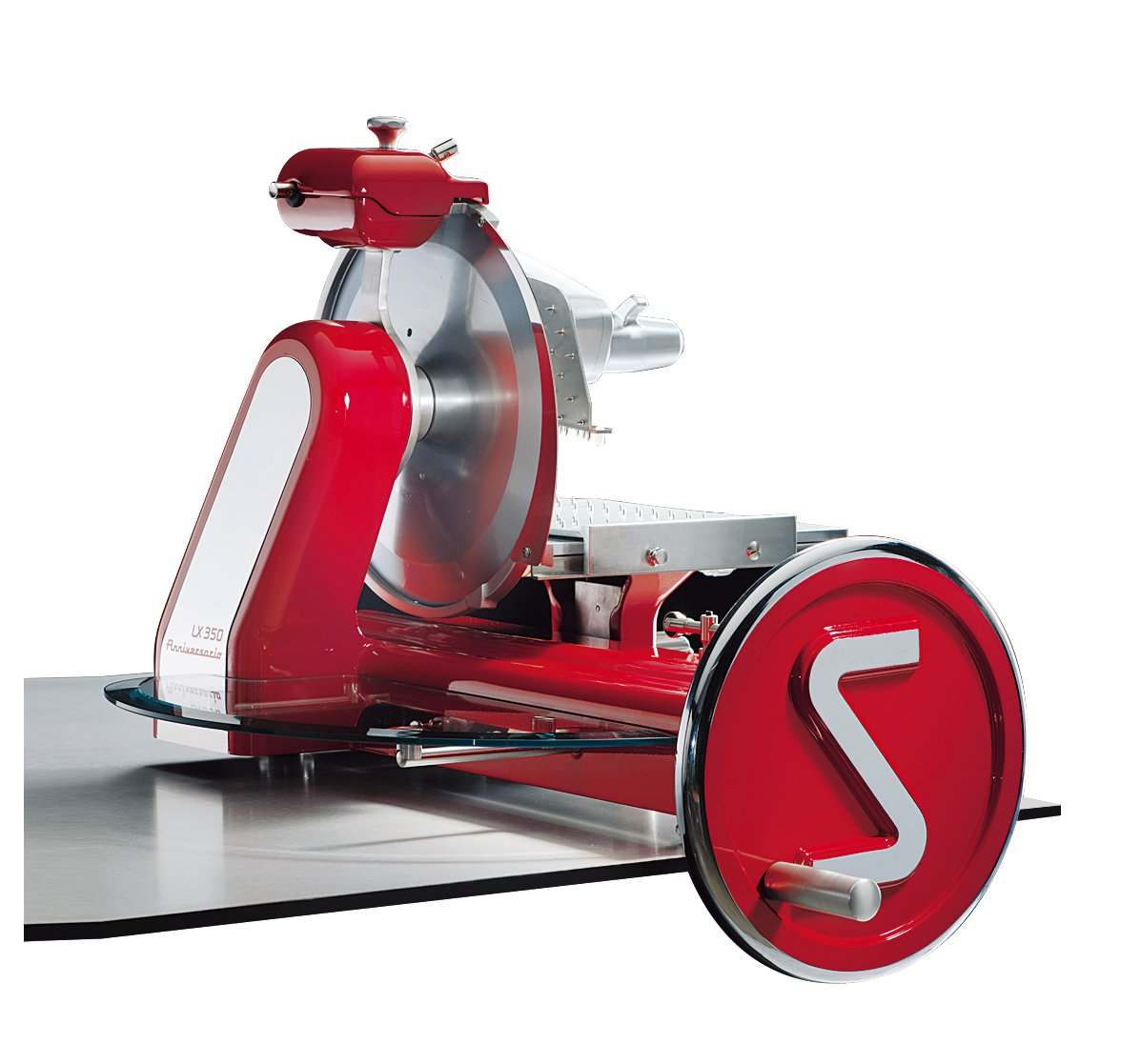 Sirman 11357100 Anniversario LX 350 Commercial 14Inch Slicer for Prosciutto, Full