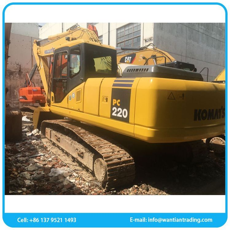 China manufacturer cheap floating used excavator
