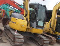 excellent working condition Komatsu PC78-6 Used MINI SMALL excavator /used PC78 PC70 PC75 PC55