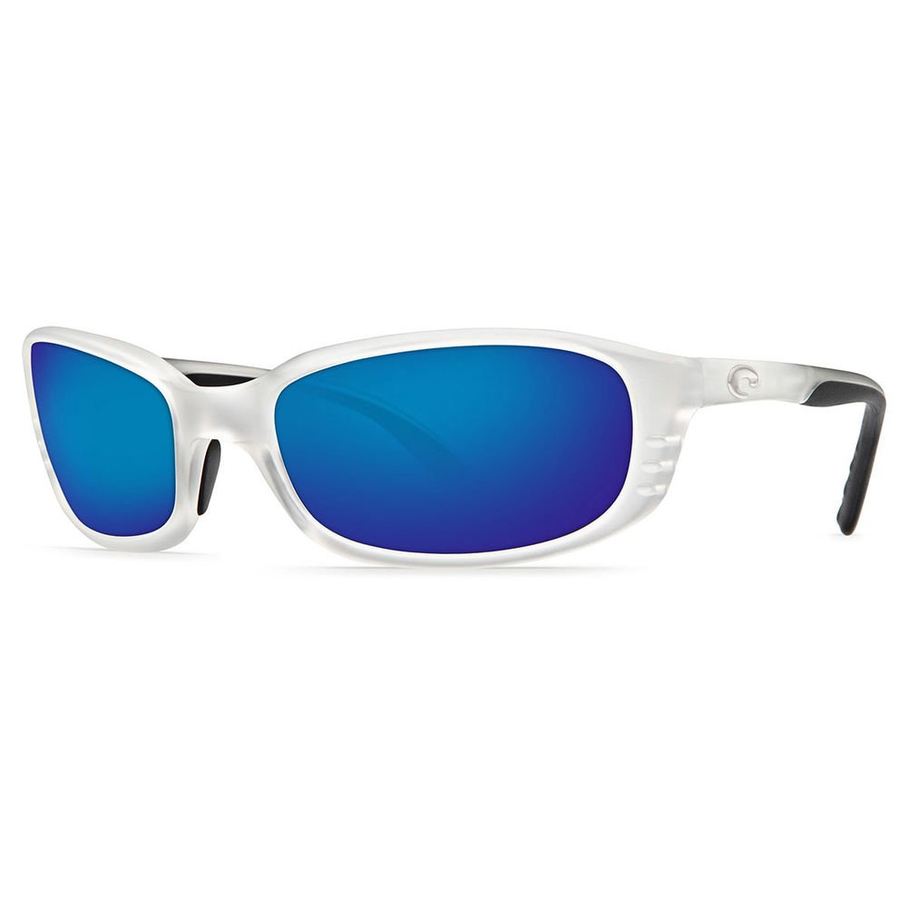 f63bd81c04ec5 Costa Del Mar Sunglasses - Brine- Plastic   Frame  Crystal Bronze Lens  Polarized  Blue Mirror 580P Polycarbonate-BR71OBMP