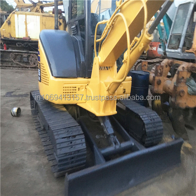 used japan komatsu pc55 excavator, used mini excavator 1 /2 /3 /4 /5 /6 /7 /8 ton