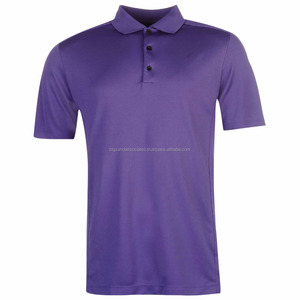 Quick Dry Polyester Polo Man Golf Shirt with Customized Logo Sports T-shirt