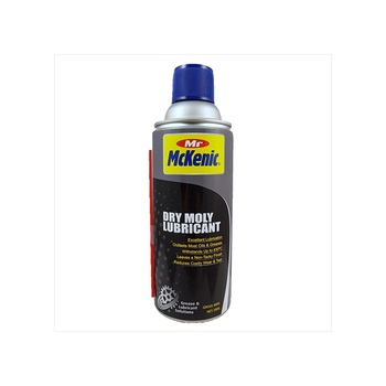 Bottle Withstand High Temperature Dry Moly Lubricant Non-sticky Spray for Metal
