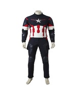 The Avengers Age of Ultron Captain America Costume Outfit - motorbike suits