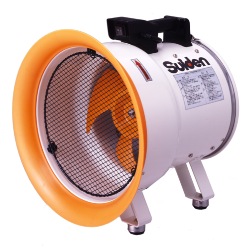 Portable Industrial Exhaust Fan By Suiden. Made In Japan ...