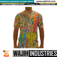 Wholesale Yarn Dyed 100% Cotton Men's T-shirt Bangladesh Clothing
