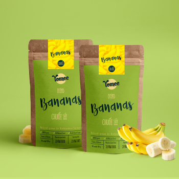 Yomee Dried Banana 100gr - Wholesale Premium Quality dried fruit