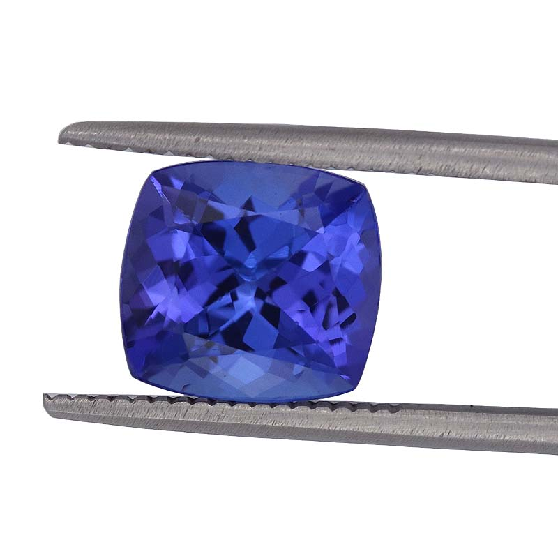 loose quality vivid tanzania aaa carat shield tanzanite gemstones cut from violet collections blue color