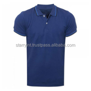 Cheap Price For 100% Cotton Polo T Shirts For Men Printing Stock Custom Polo Shirt