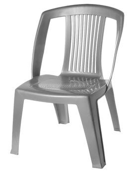 Confortable Chaise Empilable En Plastique Sans Bras