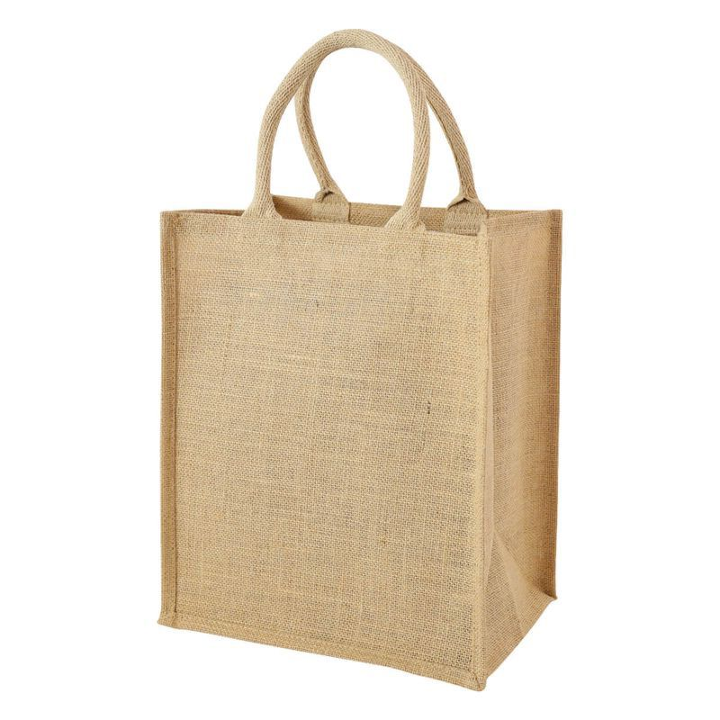 Whole Azo Free Inks And Dyes Printing Jute Wine Bag With 6 Bottles Six Bottle Per