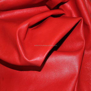Lambskin leather hide skin hides Genuine Sheep Nappa Finish Leather/Best quality by TAIDOC