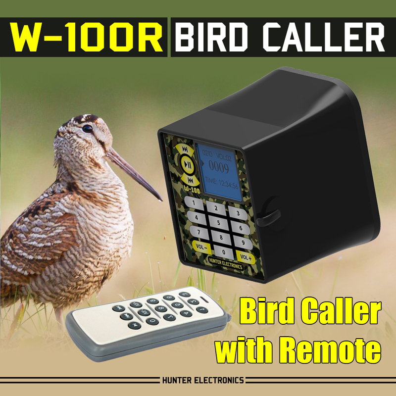 Waterproof MP3 Bird Callers with Remote Control Quail sounds