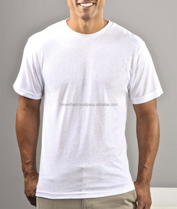Cotton T-shirt Manufacturer Bangladesh Blank Man Plain No Brand Sports Pre shrunk T-shirt
