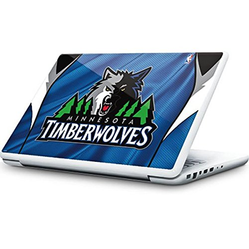 NBA Minn. Timberwolves MacBook 13-inch Skin - Minnesota Timberwolves Jersey Vinyl Decal Skin For Your MacBook 13-inch