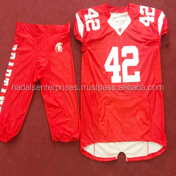 Wholesale Youth Tackle Twill American Football Jersey/customized American Football Uniforms