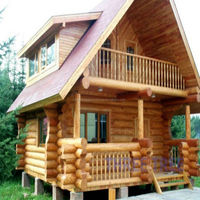 Wooden House / Log House Model 1