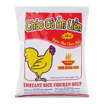 instant rice chicken soup made in Vietnam
