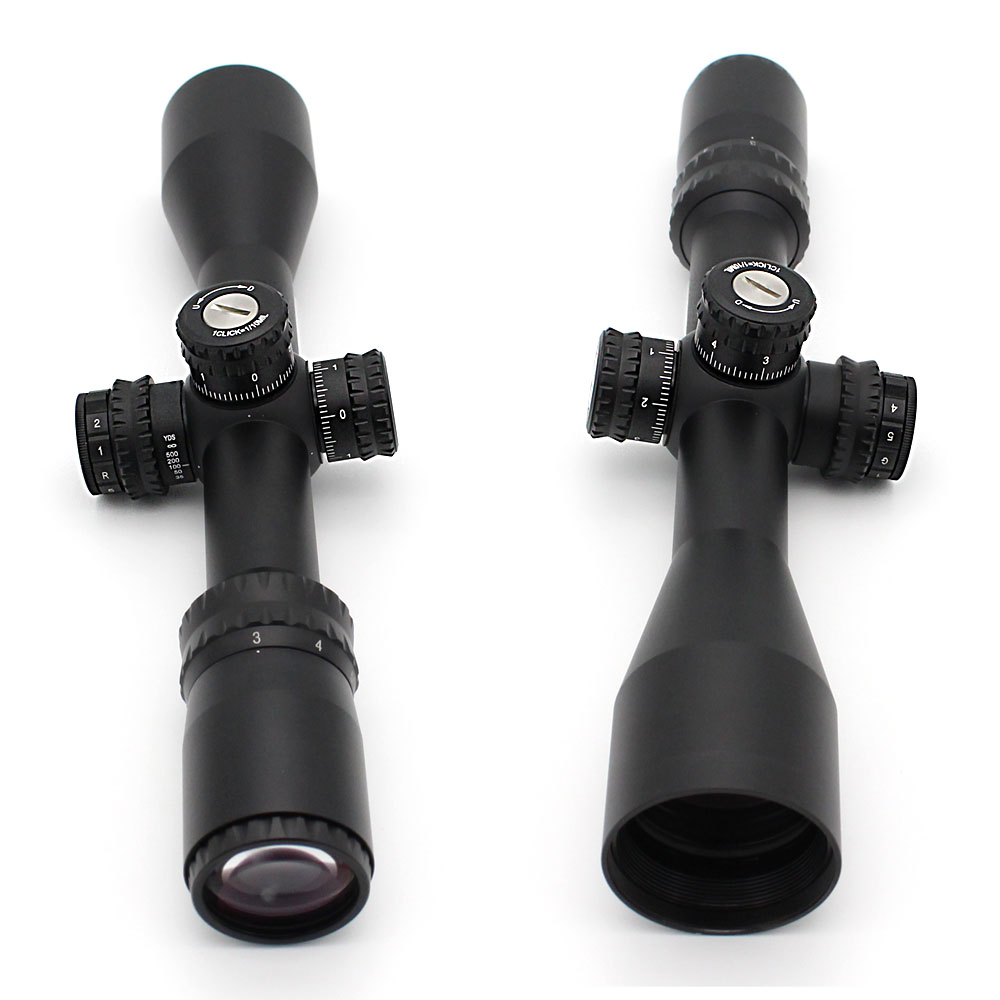 cheap hot sale riflescope mil dot second focal plane military rifle scopes