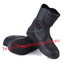 New Men Motorcycle Boots Professional Middle-cut Motorbike Racing Sports Shoes