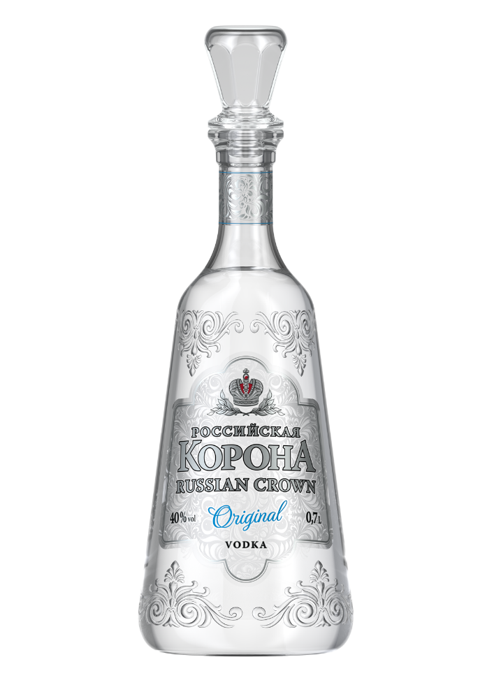 "Vodka "" Russian Crown Original"""