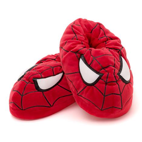 Cute Indoor Plush Spider Man Slippers