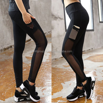 64c437b780 Mobile Pocket Leggings,Hot !women Fashion Running Sport Pants Sexy*tight  Mesh Leggings Stretch Trousers Im.2177 - Buy Design Sports Trousers With ...