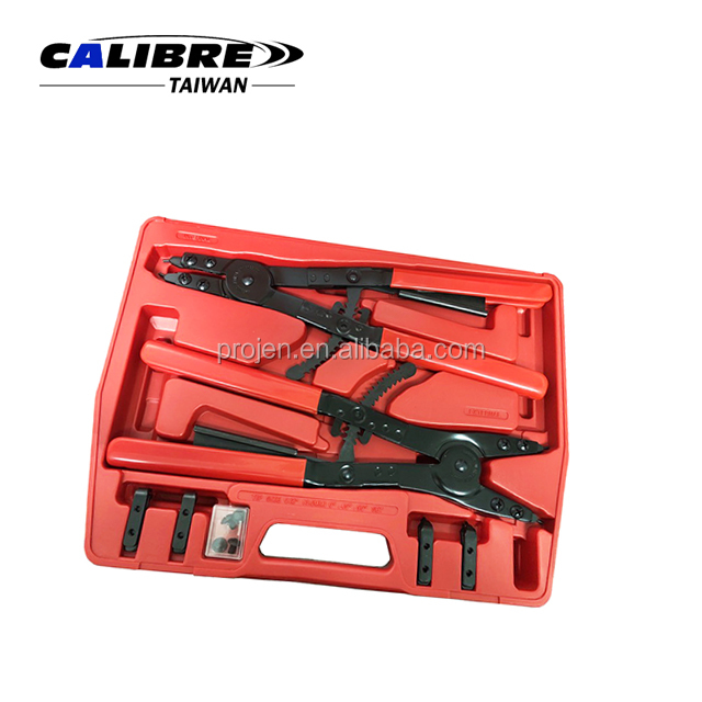 "CALIBRE Internal and External Heavy Duty Circlip Pliers Set 16"" Snap Ring Pliers Set"