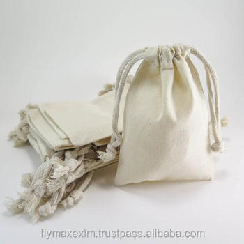 Plain Cotton Pouch Drawstring Muslin Bags Hot Product On Alibaba