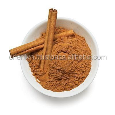 aromatic powder cinnamon - grinding cassia