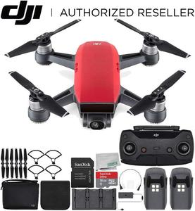 For Good Price Brand New/Used DJI Spark Portable Mini Drone Quadcopter Fly More Combo Bundle (Lava Red)