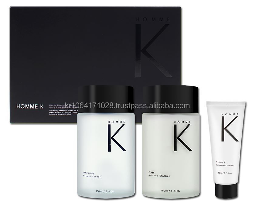 High quatliy korean cosmetics / Homme K Men's skin care / OEM / whitening toner