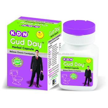 Herbal Chronic Constipation Treatment Medicine Gud-day Herbal Capsule By  Kdn Biotech Pvt Ltd  India Whatsapp: +919896902000 - Buy Herbal  Constipation