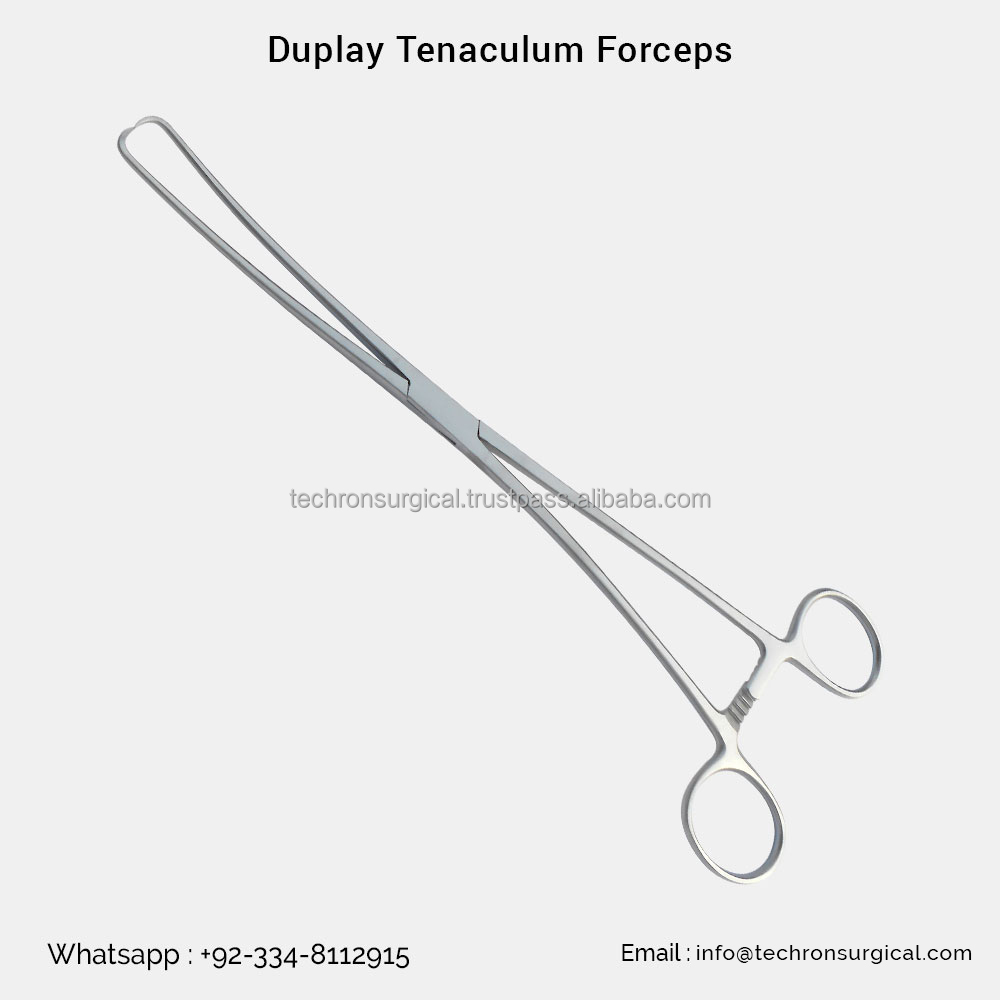 Serrated Curved 24cm Fine Quality FAST SHIPPING MAK Dressing and Sponge Forceps Foerster