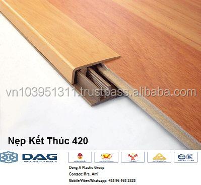 Laminated Floor Edge Cover Strip Laminated Pvc Strip Buy Pvc