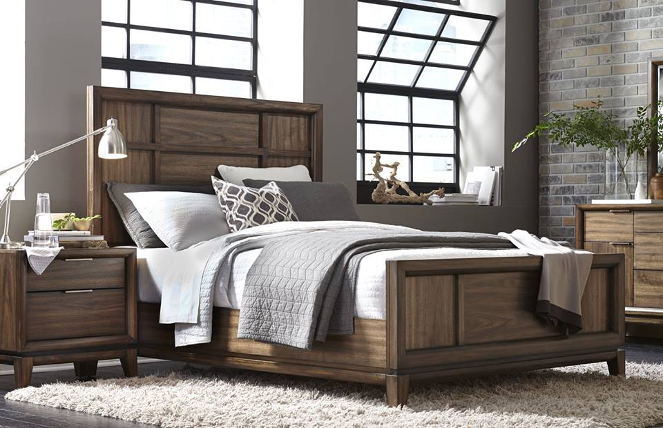 A Modern Contemporary Wood Bedroom Furniture