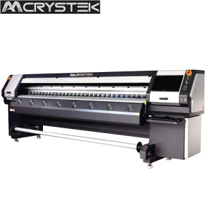 CRYSTEK Allwin konica 512i printing machine CT3208i solvent printer