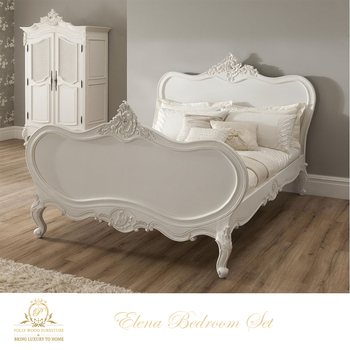 Elena Elegant Antique French Bedroom Set Home Furniture European Style  Indonesia Mahogany Hand Carving Shabby Chic - Buy Antique Furniture  Sets,Shabby ...