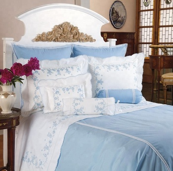 Bedding Sets Cotton Embroidery Hotel Duvet Cover 2018 Best Selling