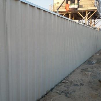 Boundary Steel Fencing Barricade (+971507983153) In Dubai Ajman Sharjah  Oman Bahrain - Buy Boundary Fence Uae,Barricade Fencing  Supplier,Construction