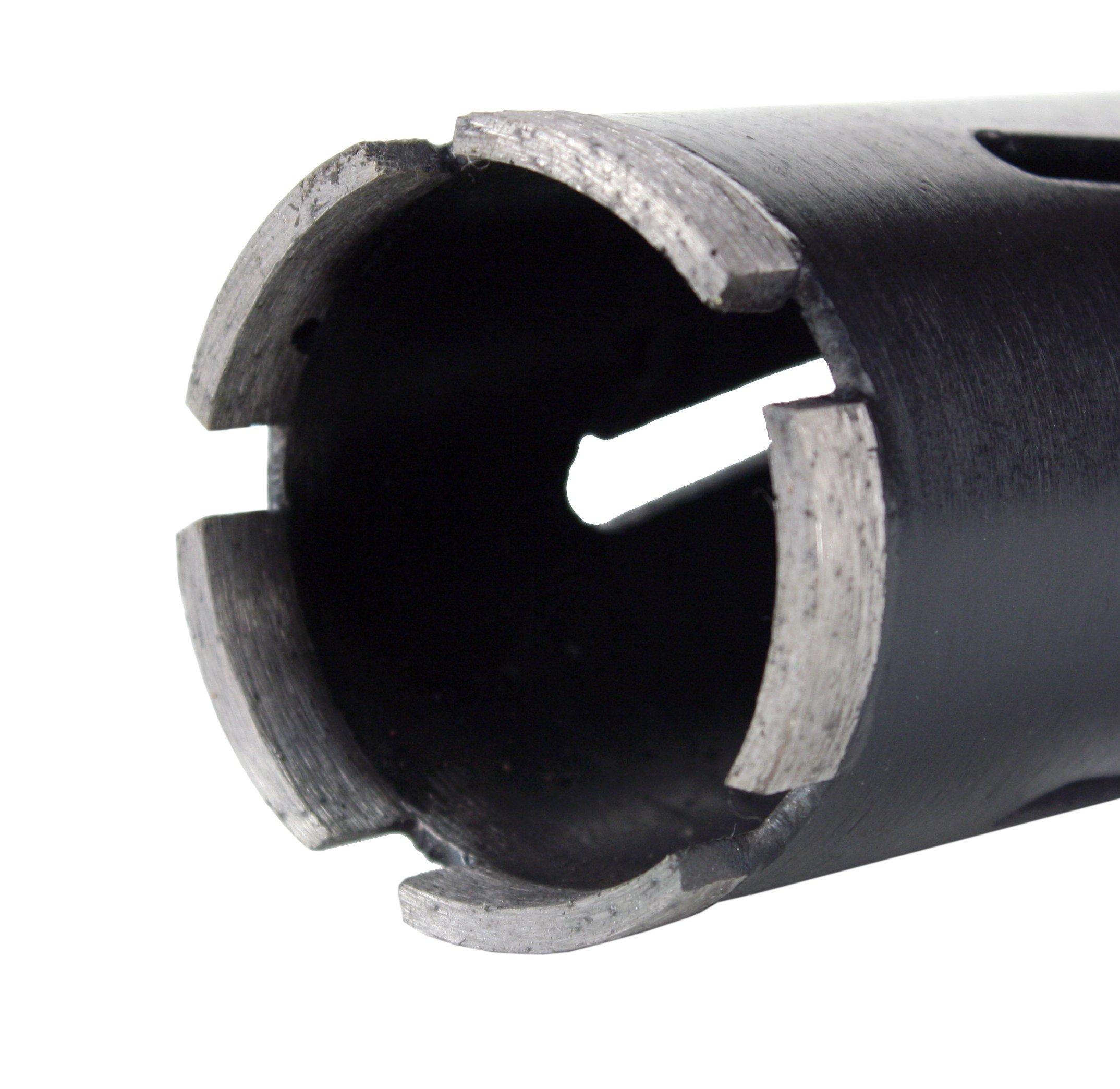 "Steel Dragon Tools 2-1/2"" (63 mm) x 6"" Dry Diamond Masonry Core Drill Bit"