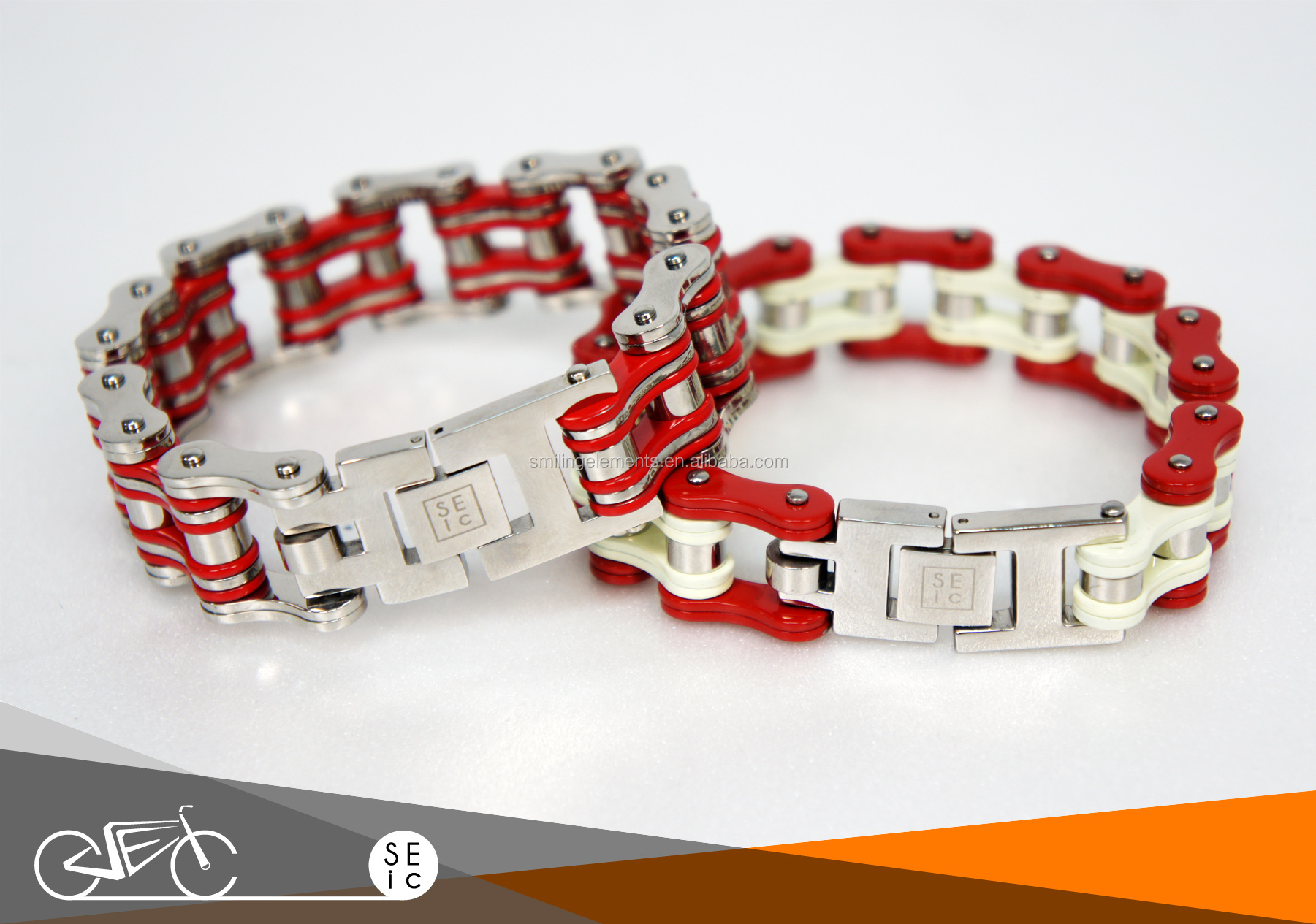 Best Selling Fashion Stainless Steel Bicycle Chain Bracelet