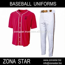 Aangepaste Soort Tackle <span class=keywords><strong>Twill</strong></span> Borduren & Sublimatie Baseball Uniformen