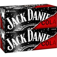Jack daniels and cola 330ml cans Hot Sale