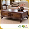 American Natural Modern Antique Coffee Table
