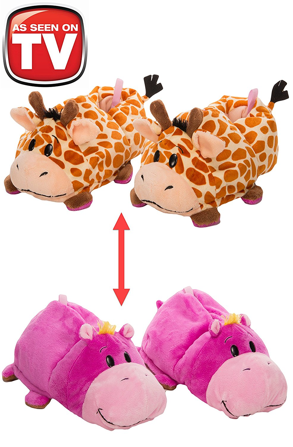 92687505639 Get Quotations · FlipaZoo SlipaZoos by Jay at Play (Giraffe to Hippo  Medium)  - Transforming Animal