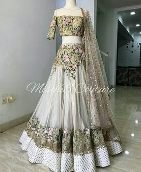 d8f8772731 We Present To You New Designer Party Wear Heavy Bridal Wear Lehenga ...