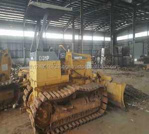 used bulldzer komatsu D31P-20 with ripper with excellent quality and low  price in shanghai