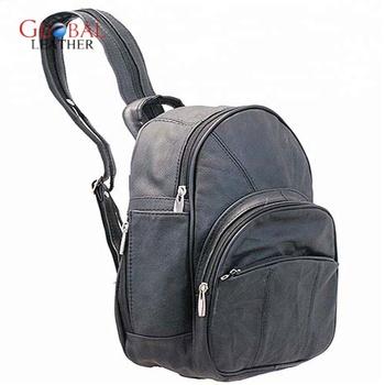 36867758cbdf Ab Backpack Fancy Leather School College Bag - Buy Girls Leather ...